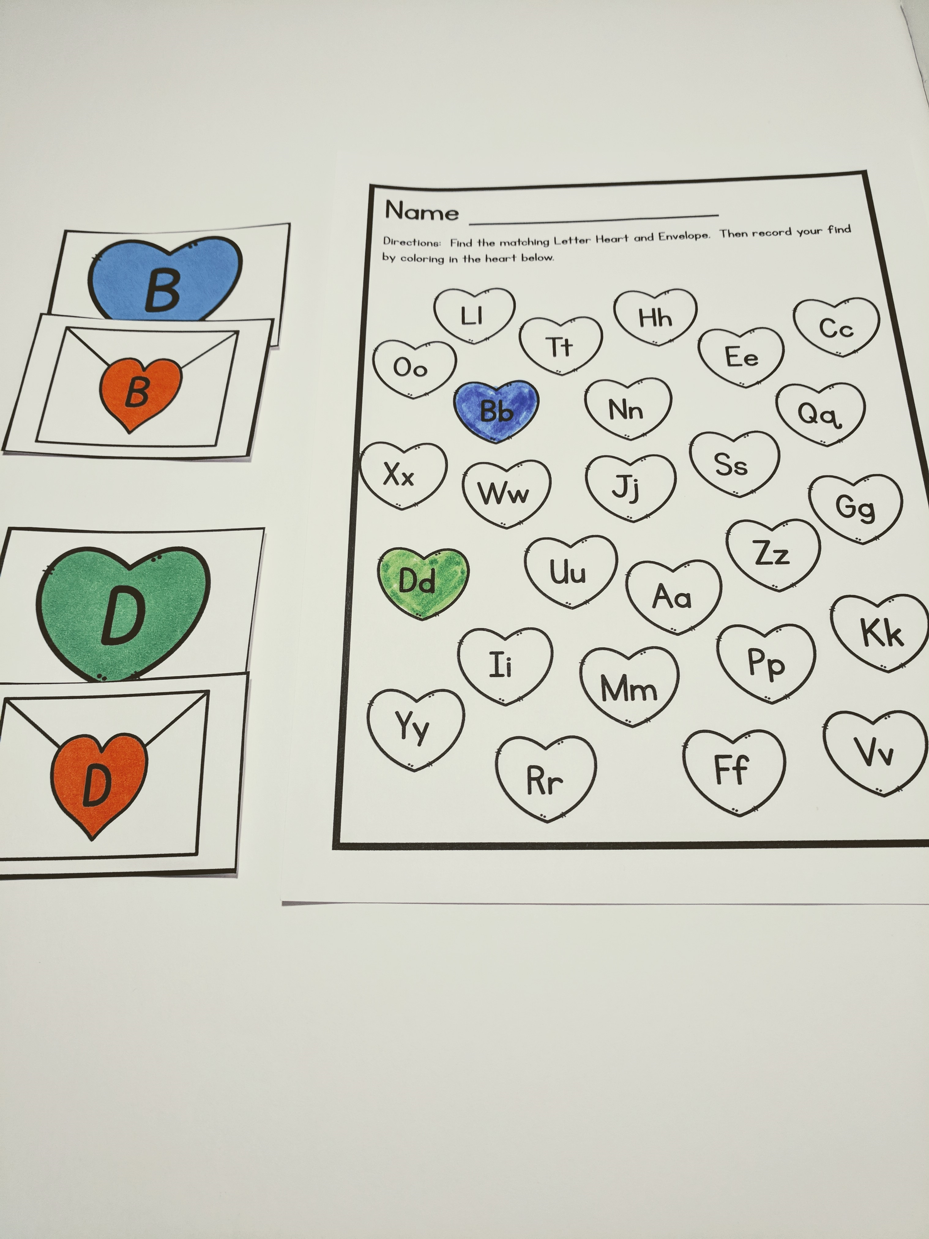Valentines Letter Games Bundle – Super God, Not Super Mom